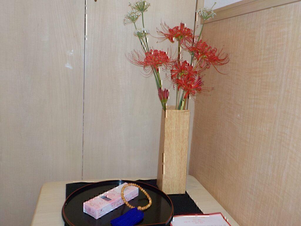 9月室内装飾 ~秋の彼岸~